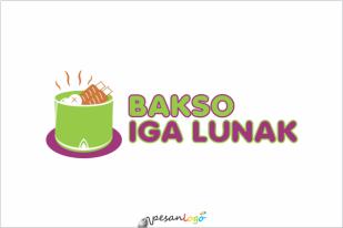 Logo Bakso iga lunak