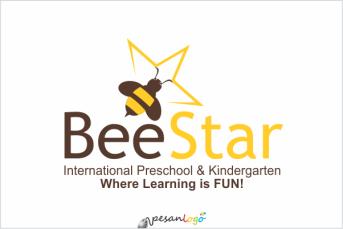 logo bee star