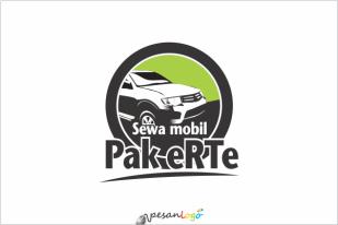 Logo Sewa Mobil Pak eRTe