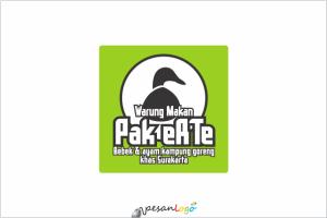 Logo Warung Makan Pak eRTe