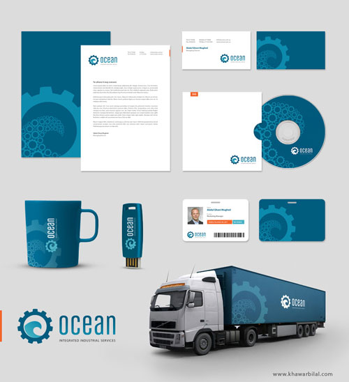 OCEAN_Corporate_identity_by_khawarbilal