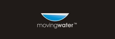 logo moving water