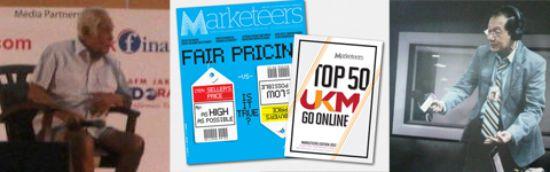 pesanlogo di majalah dan radio marketeers