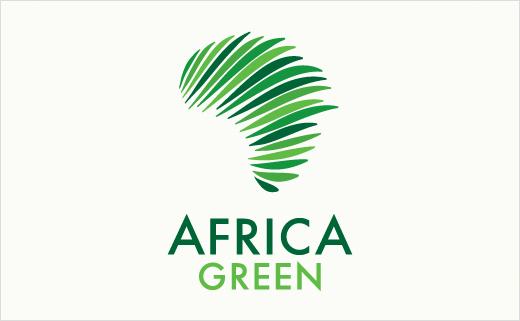 Africa Green logo design