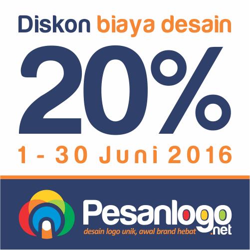pesanlogo diskon 20 persen juni 2016