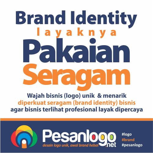 brand identity layaknya seragam