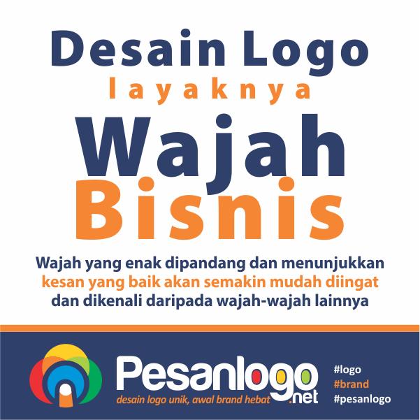 desain logo layaknya wajah bisnis