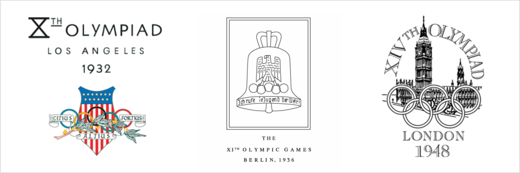 logo olimpiade 1932