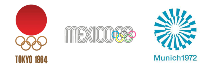 logo olimpiade 1964