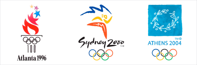 logo olimpiade 1996