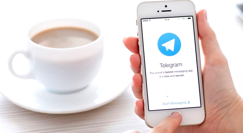 Telegram logo mobile
