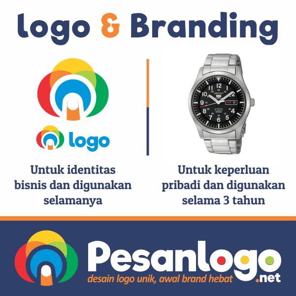 desain logo tak semahal jam tangan